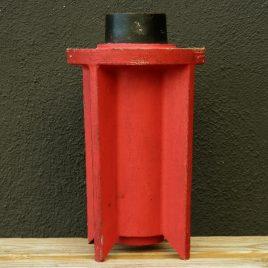 Pieza Cohete Rojo