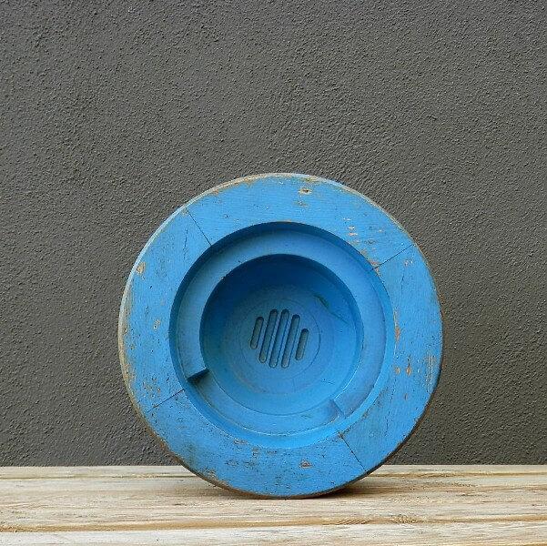 Pieza cuenco azul