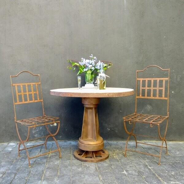 Mesa y sillas Toscana